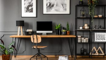 A Guide To Styling Your Home Office Using Framed Prints