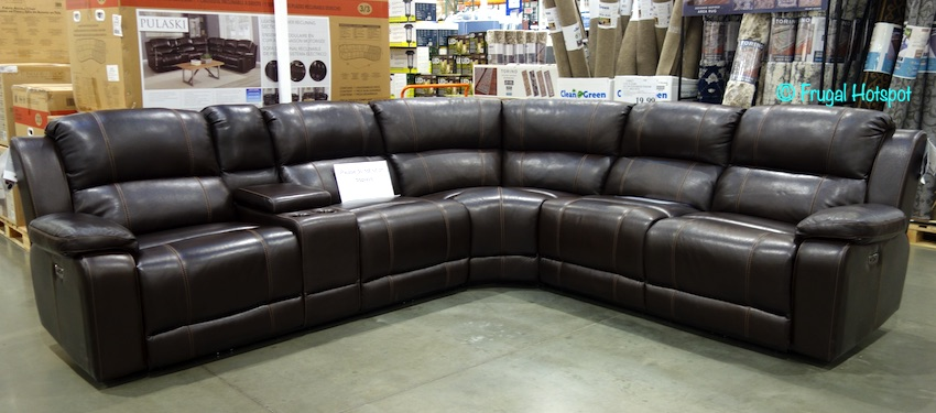 Dunhill 3-Piece Leather Power Reclining Sectional