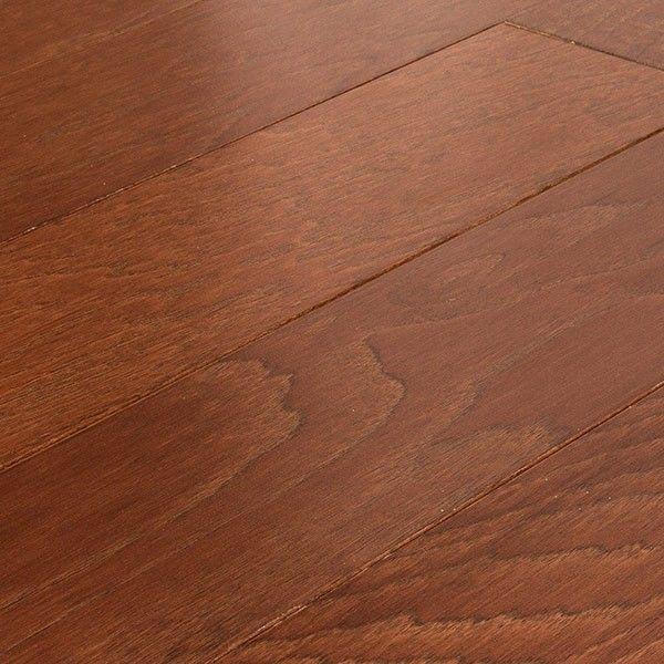 Engineered Allen+ Roth Hickory Warm Cherry Hardwood Floor