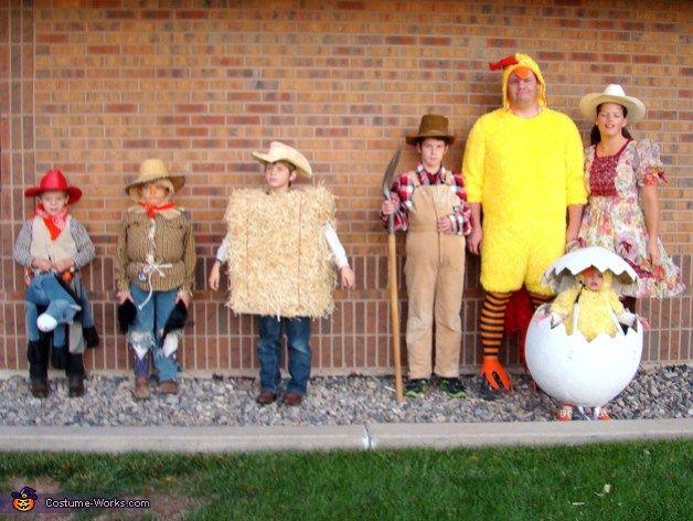 Farmer Family Halloween Costumes