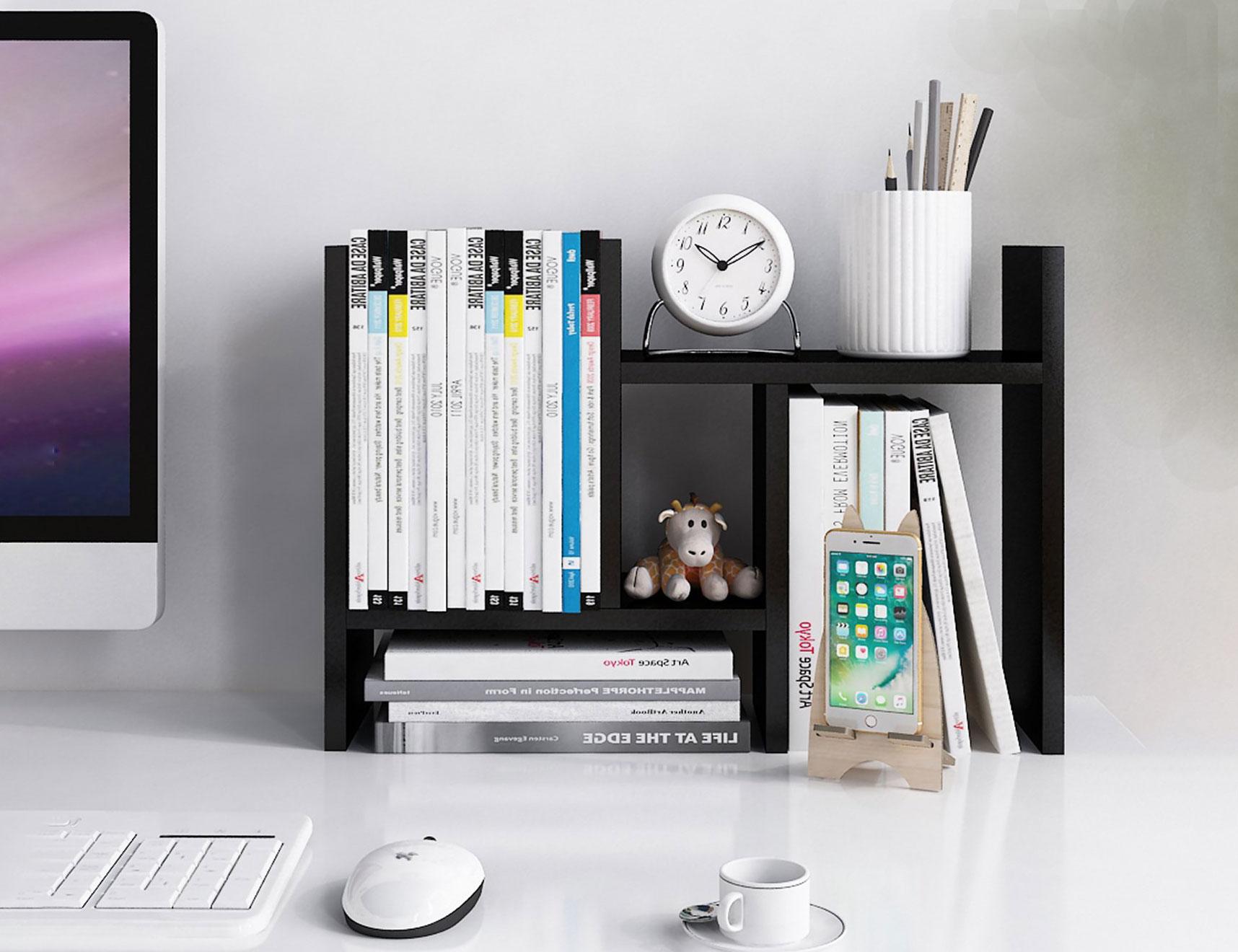 Functional Desktop Shelving