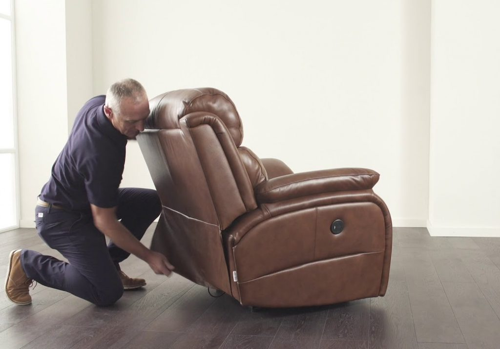 How to Fix the Back of a Recliner