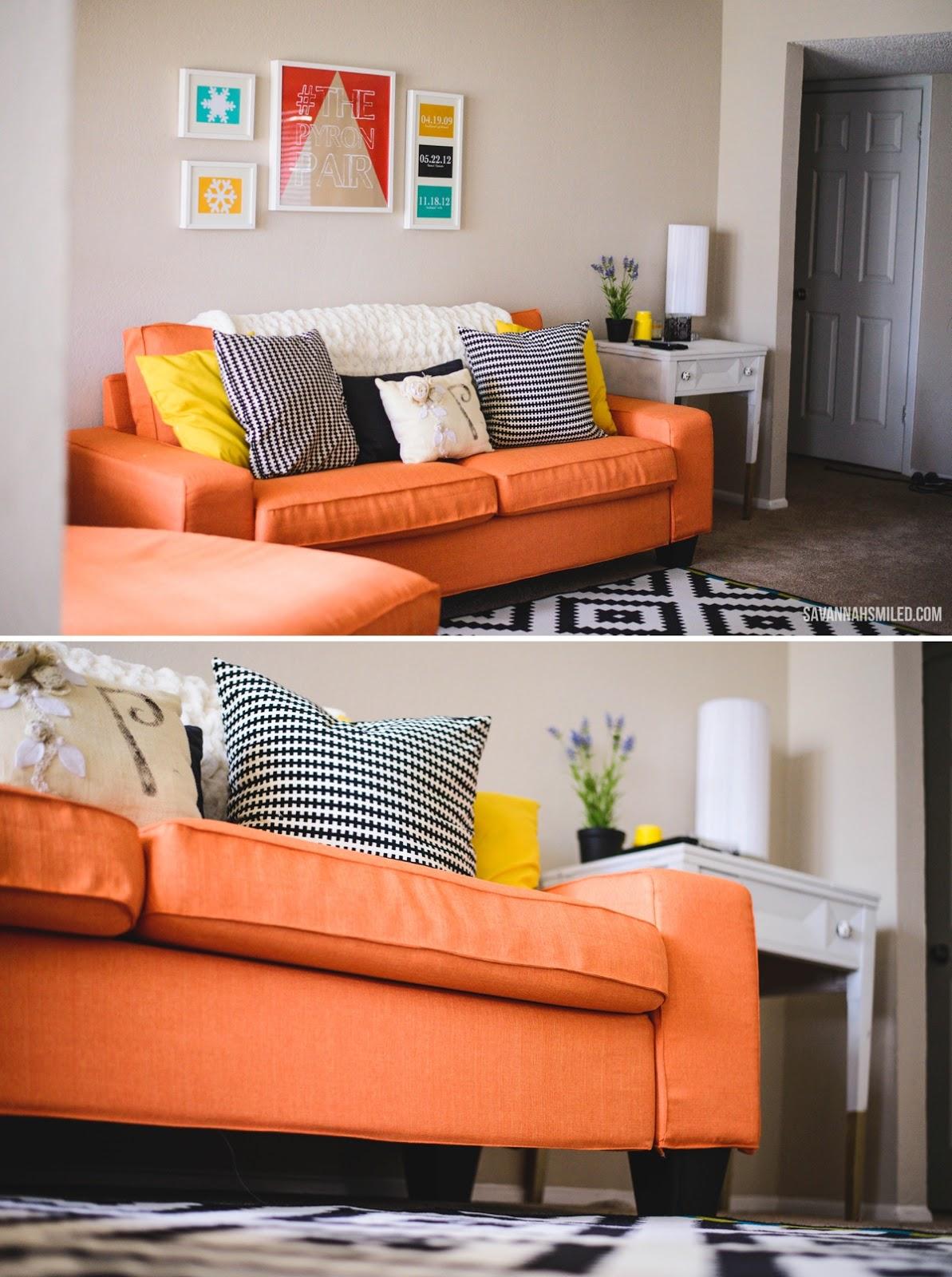 Kivik Sofa Orange