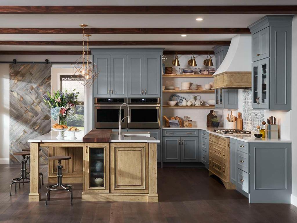 Medallion Kitchen Cabinet