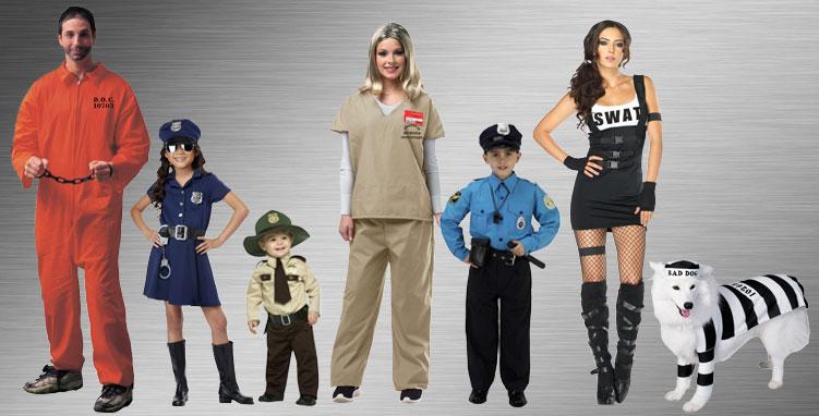 Sheriff Gang Halloween Costumes